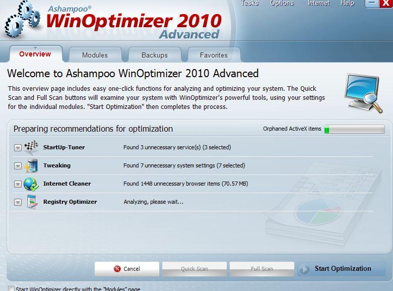 winoptimizer 2010