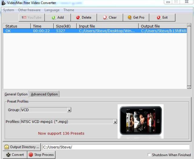 Free Video Convertor