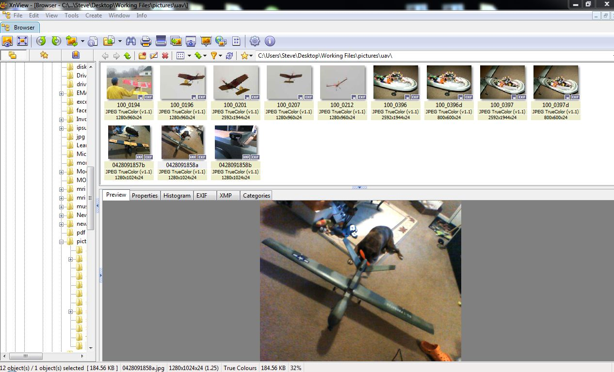 View Thumbnails, Convert or Scan Pictures with XnView | TCAT