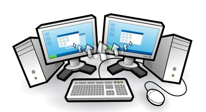 Il divisore KVM PS/2 USB condivide più tastiere monitor mouse