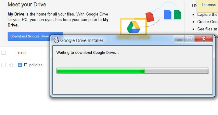 First Look At Google Drive Storage In The Cloud Tcat