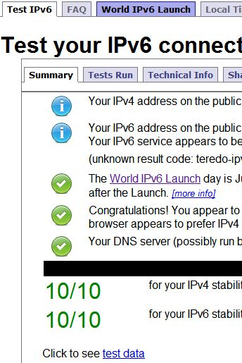 Testing IPv6 Teredo – A comprehensive list | TCAT Shelbyville
