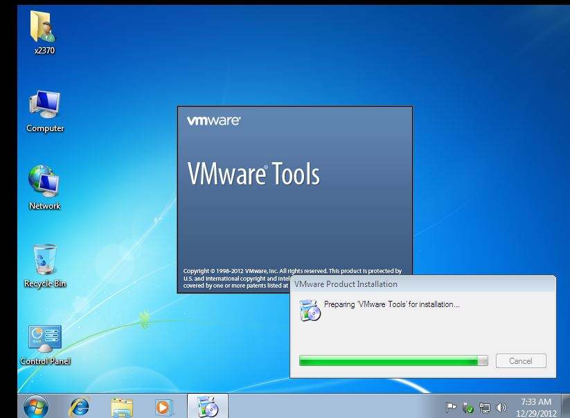 32 VMWare Setting Up