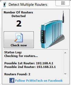 PCWinTech Detect Router