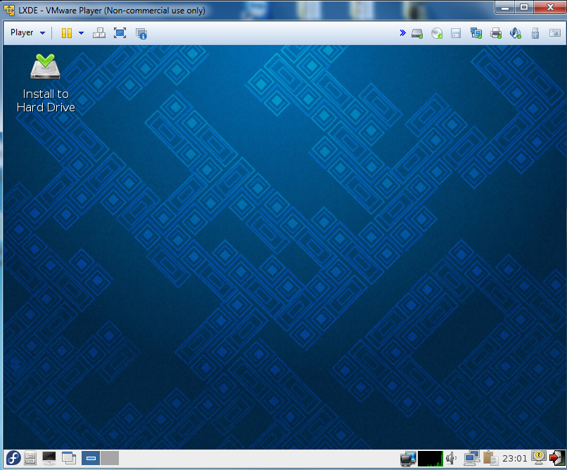 "Install LXDE, the ""Lightweight X11 Desktop Environment"" in"