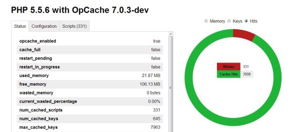 Using Zend OPcache in PHP 5 56 on IIS | TCAT Shelbyville