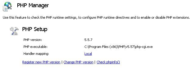 php handler manager