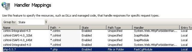 PHP Handler