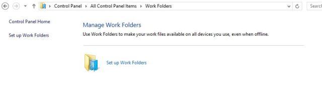 16 Work Folder