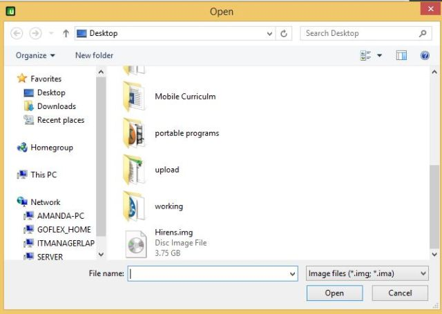 4 usb image tool restore