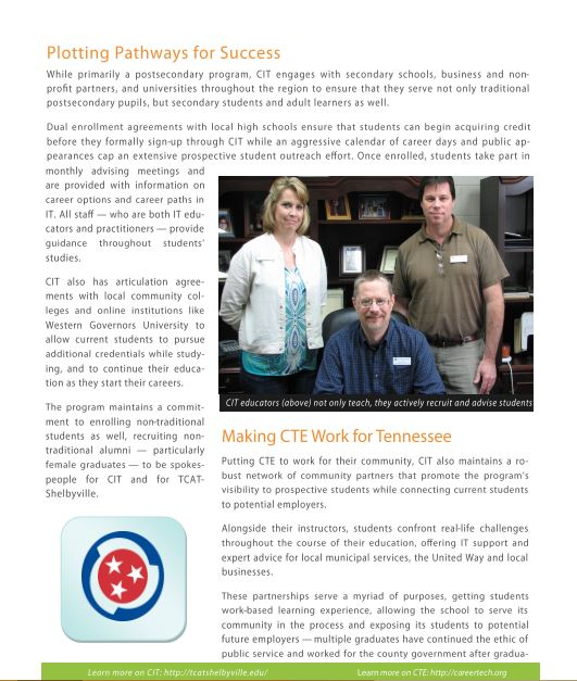 CTE Page Two