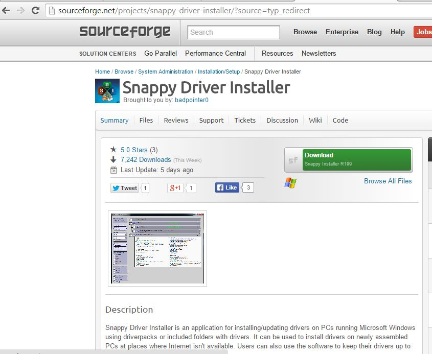 0 snappy driver