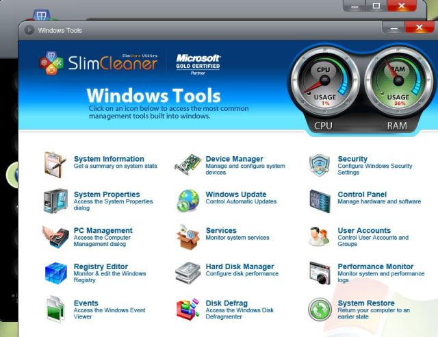 12 Windows Tools