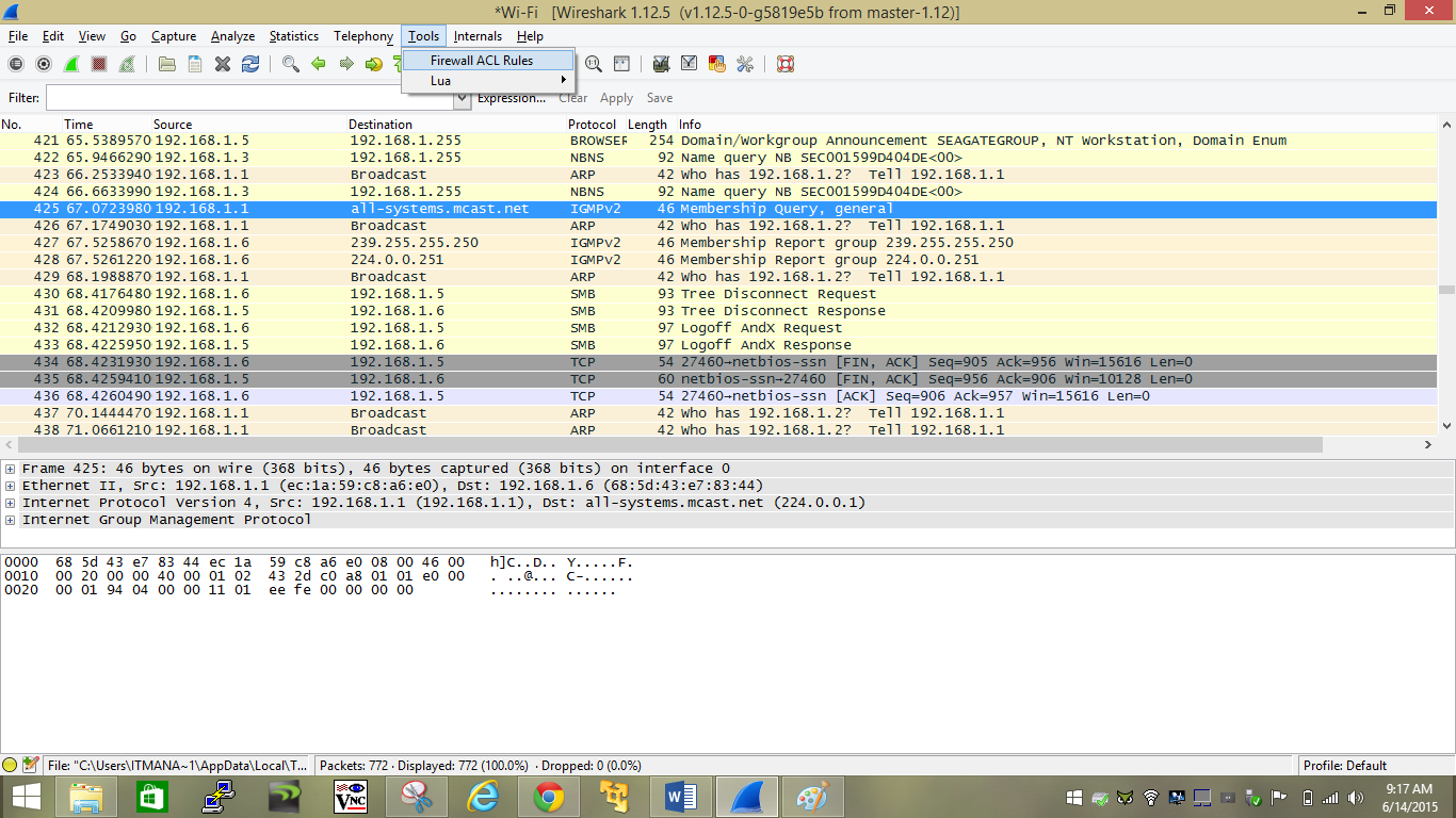 how to use wireshark to capture filter and inspect packets