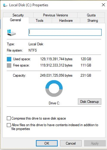 1 Drive information