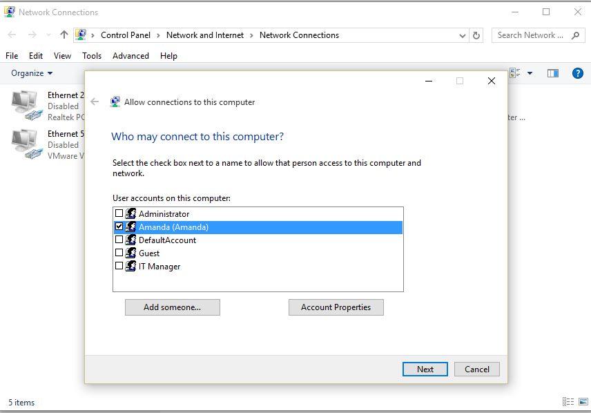 Windows 10 Quick Tips – Windows 10 VPN – Computer to