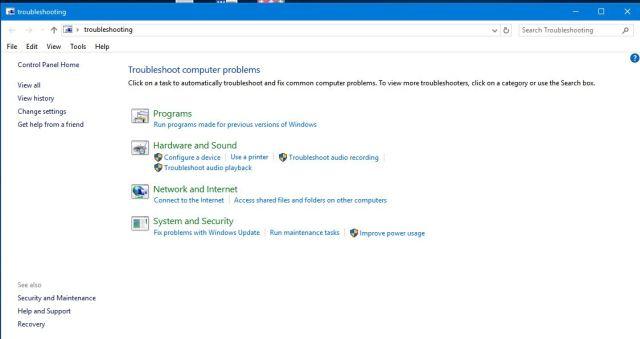 troubleshooting-window